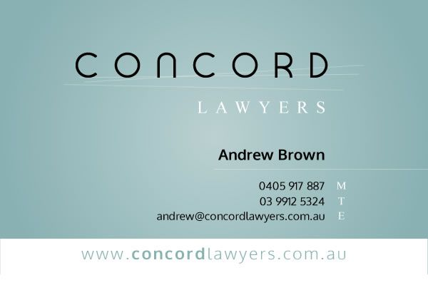 Concord Business Card