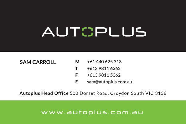Autoplus Business Card