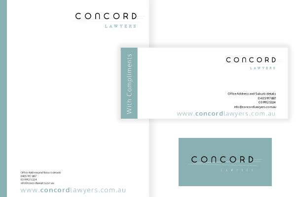 Concord Letterhead & With Compliments