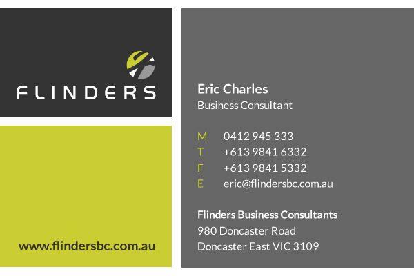Flinders Business Card