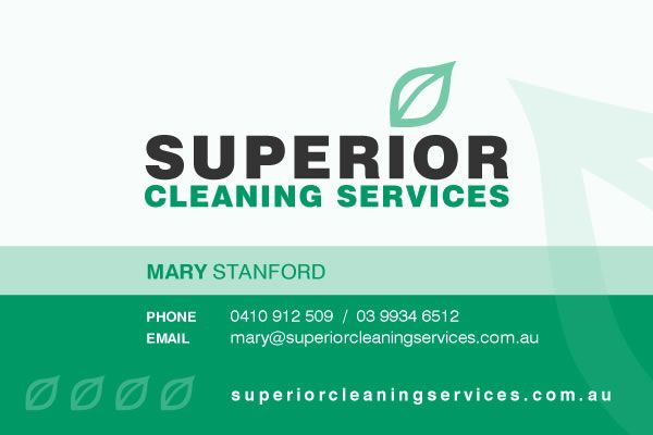 Superior Cleaning Card