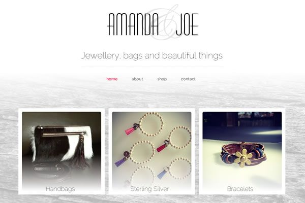 Amanda & Joe Website
