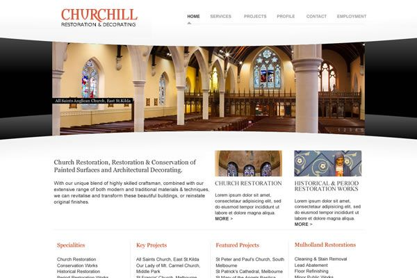 Churchill Website