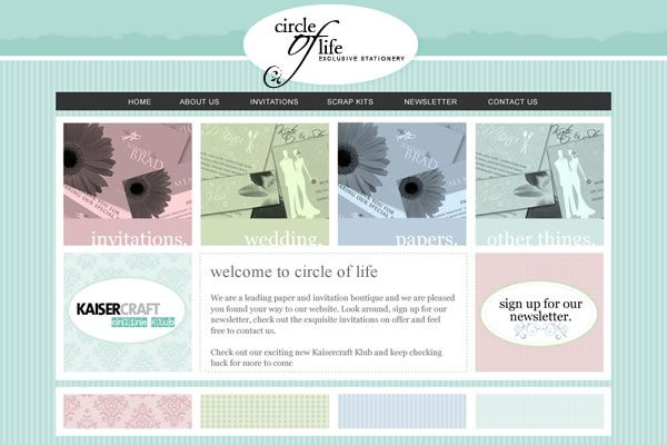 Circle of Life Website