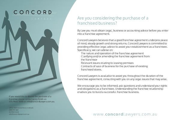 Concord Lawyers A5 Flyer