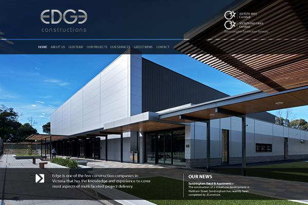Edge Constructions Website