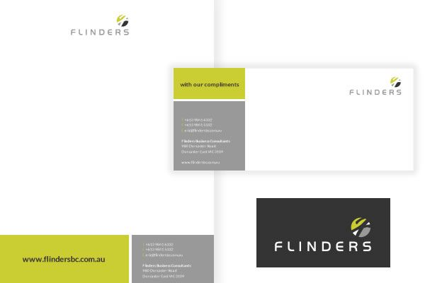 Flinders Business Consultants Letterhead & With Compliments