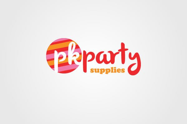 PK Party Supplies Logo