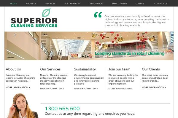 Superior Cleaning Website