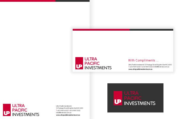 Ultra Pacific Investments Letterhead