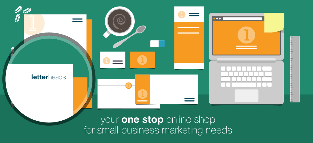 Your one stop online shop for small business marketing - letterheads