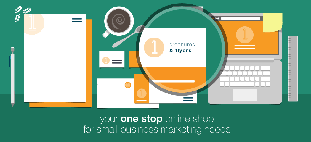 Your one stop online shop for small business marketing - brochures & flyers