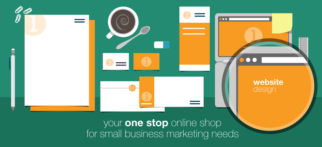 Your one stop online shop for small business marketing - websites