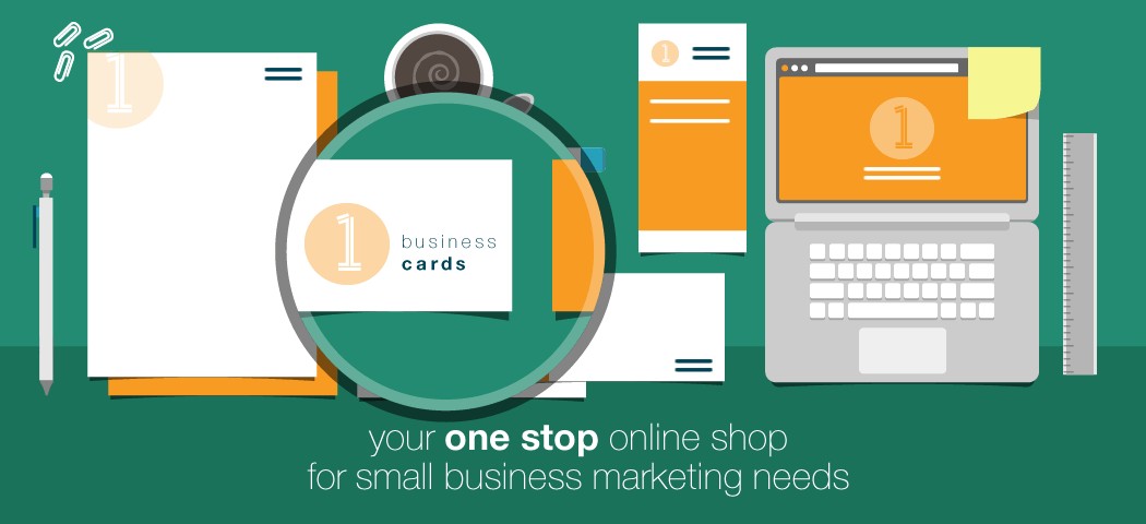 Your one stop online shop for small business marketing - business cards